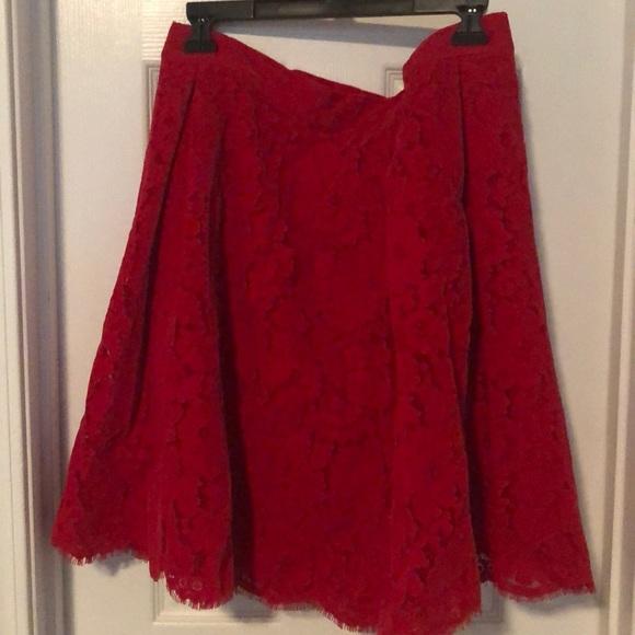 New York & Company Dresses & Skirts - Red Skirt